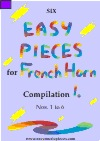 Easy French Horn play-along pieces